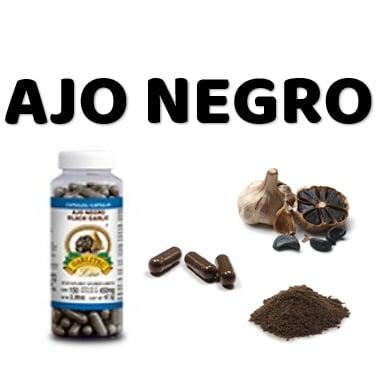 Cápsulas De Ajo Negro En Polvo Garlitec Superproductos