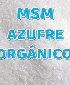 MSM Azufre Organico Cristales